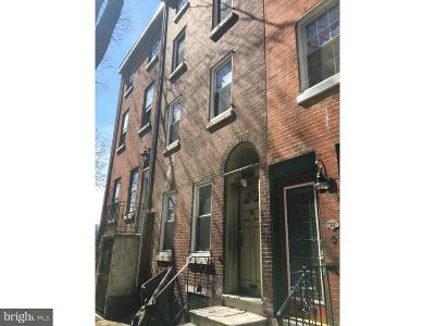 Old City Townhouse For Sale: 252 N Lawrence Street