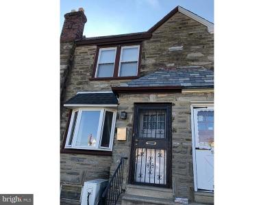 Philadelphia County Townhouse For Sale: 1406 Knorr Street