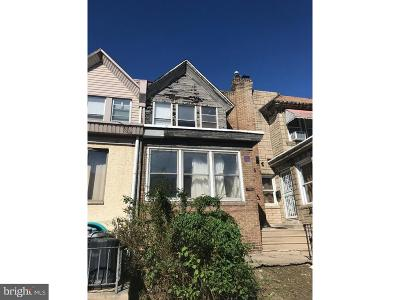 Philadelphia PA Townhouse For Sale: $55,000