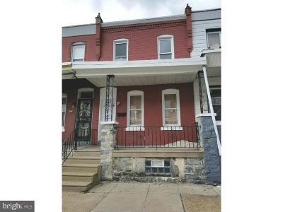 Philadelphia PA Townhouse For Sale: $115,000