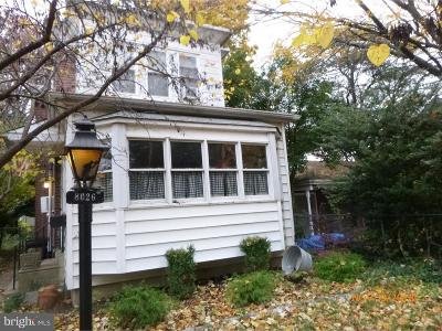 Holmesburg Single Family Home For Sale: 8026-28 Fairview Street