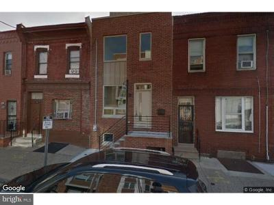 Point Breeze Townhouse For Sale: 1705 S 20th Street