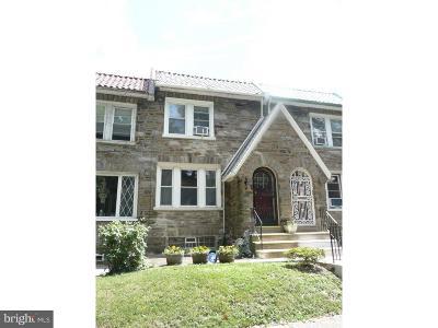 Philadelphia PA Townhouse For Sale: $220,000