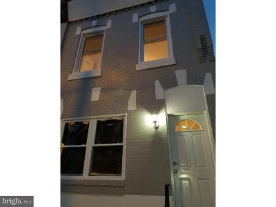Philadelphia County Townhouse For Sale: 2737 Earp Street