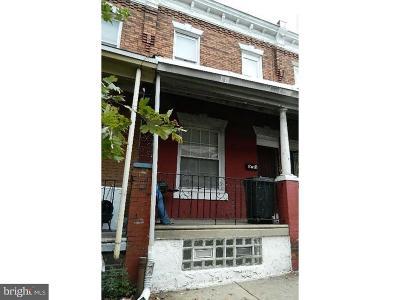 Philadelphia County Townhouse For Sale: 910 N Fallon Street