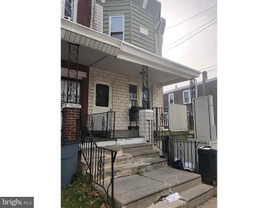 Philadelphia County Townhouse For Sale: 5021 Cottage Street
