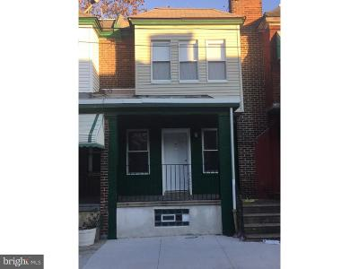 Philadelphia County Townhouse For Sale: 1523 S Patton Street