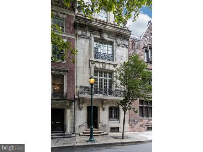 Philadelphia Townhouse For Sale: 1629 Locust Street