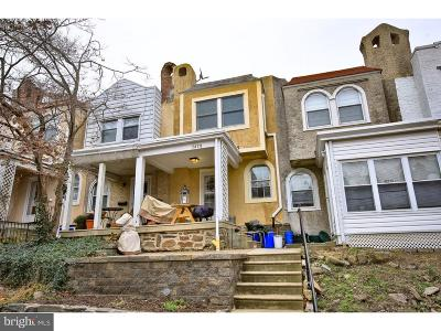 East Falls Townhouse For Sale: 3478 Tilden Street