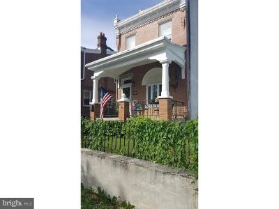 Philadelphia County Single Family Home For Sale: 4500-2 Higbee Street