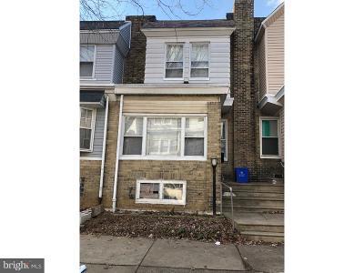 Philadelphia PA Townhouse For Sale: $129,900