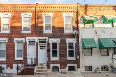 Point Breeze Townhouse For Sale: 1527 S Garnet Street