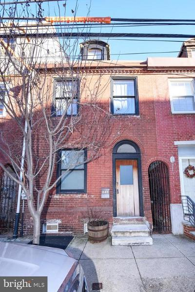 Northern Liberties Townhouse For Sale: 843 N Lawrence Street