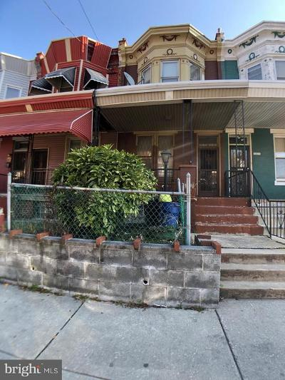 Townhouse Under Contract: 3425 Old York Road