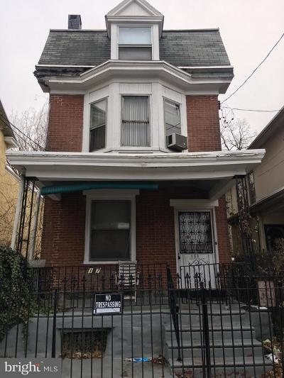 Philadelphia Single Family Home For Sale: 167 E Herman Street