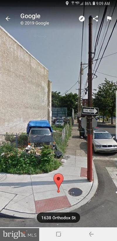 Residential Lots & Land For Sale: 1629 Orthodox Street