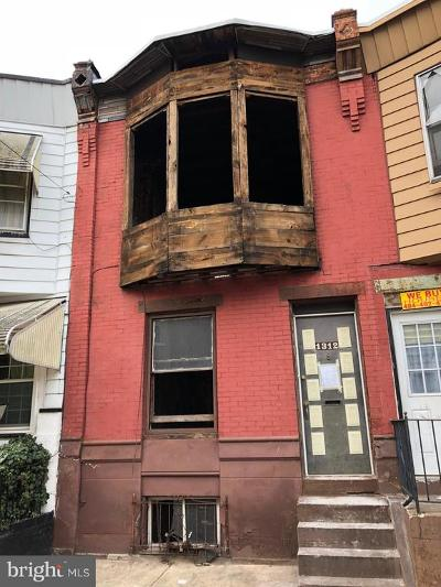 Point Breeze Townhouse For Sale: 1312 S Ringgold Street