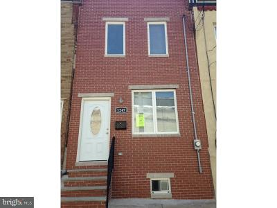 Point Breeze Townhouse For Sale: 1247 S Taylor Street