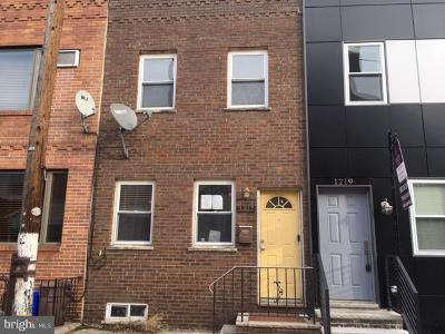 Point Breeze Townhouse For Sale: 1217 S Bucknell Street