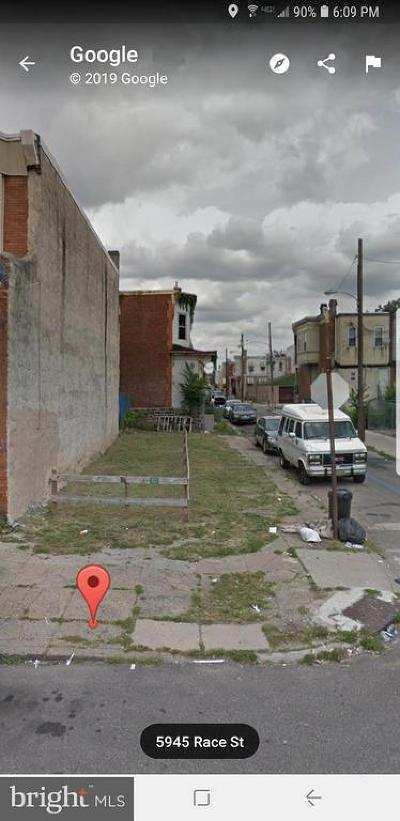 Residential Lots & Land For Sale: 5945 Race Street
