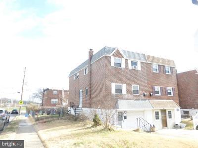 Philadelphia County Single Family Home For Sale: 2833 Walnut Hill Street