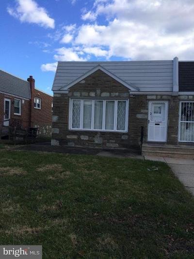 Philadelphia Single Family Home For Sale: 8511 Agusta Street