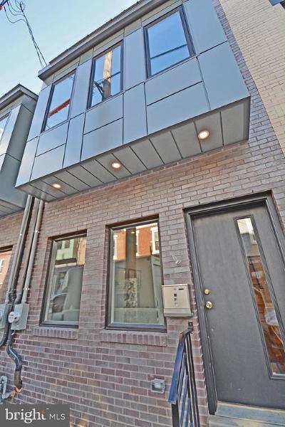 Point Breeze Townhouse For Sale: 2050 Gerritt Street