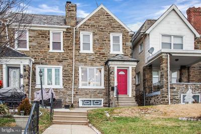 Philadelphia County Townhouse For Sale: 2463 77th Avenue