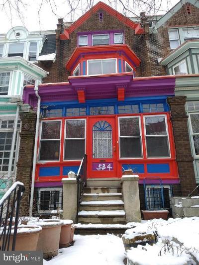 Philadelphia County Multi Family Home For Sale: 534 S 45th Street