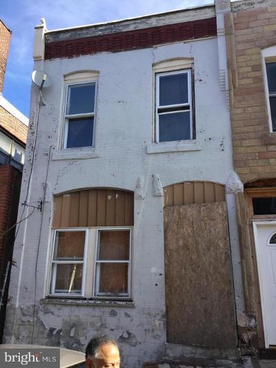 Philadelphia Townhouse For Sale: 839 N Hutton Street