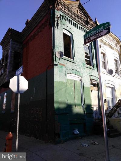 Philadelphia Townhouse For Sale: 2125 W Dauphin Street