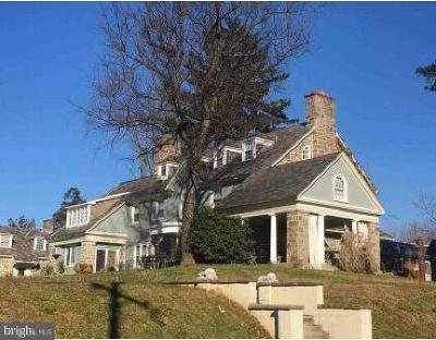 Philadelphia Single Family Home For Auction: 611 And 615 E Mount Pleasant Avenue