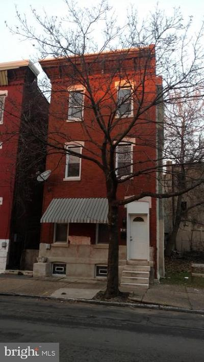 Philadelphia Single Family Home For Sale: 2403 W Master Street