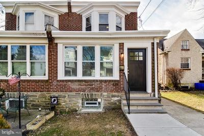 Single Family Home For Sale: 619 Shawmont Avenue