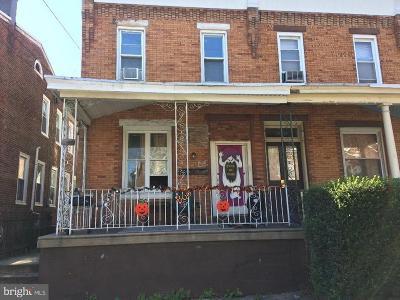 Philadelphia Single Family Home For Sale: 1628 Dyre Street