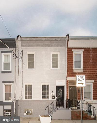 Philadelphia County Townhouse For Sale: 1241 S 21st Street