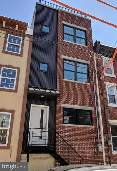 Brewerytown Townhouse For Sale: 1627 N Marston Street