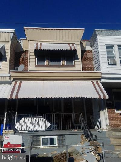 Philadelphia PA Townhouse For Sale: $79,999