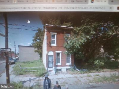 Brewerytown Single Family Home For Sale: 1340 N 21st Street