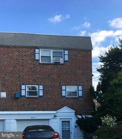 Fox Chase Single Family Home Under Contract: 8507 Bergen Terrace