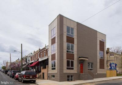 Brewerytown Townhouse For Sale: 1501 N 30th Street