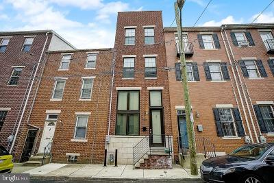 Northern Liberties Townhouse For Sale: 1139 N Orianna Street