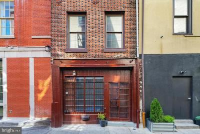Old City Townhouse For Sale: 4 S Strawberry Street