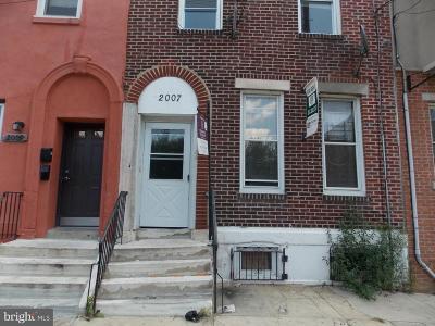Philadelphia Multi Family Home For Sale: 2007 N 17th Street