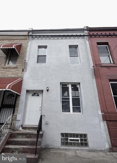 Brewerytown Townhouse For Sale: 1830 N 27th Street