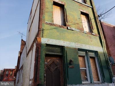 Philadelphia Single Family Home For Sale: 2113 N 21st Street