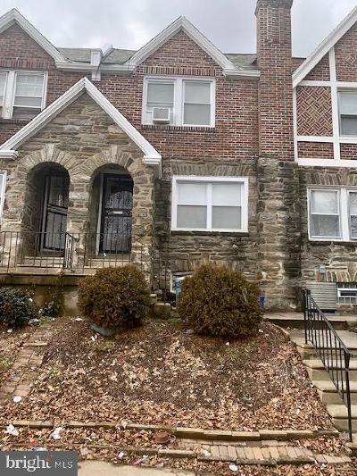 Philadelphia Single Family Home For Sale: 7514 E Walnut Lane