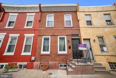 Point Breeze Townhouse For Sale: 1234 S Bucknell Street
