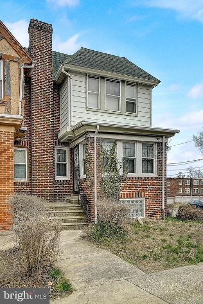 Philadelphia Townhouse For Sale: 400 E Upsal Street