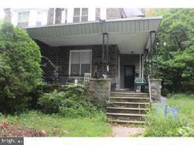 Overbrook Single Family Home For Sale: 1128 N 63rd Street